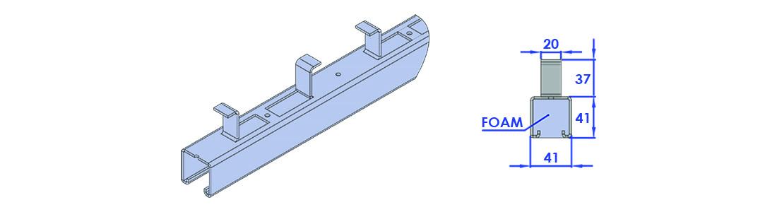 CONCRETE -INSERT-S100CI-X